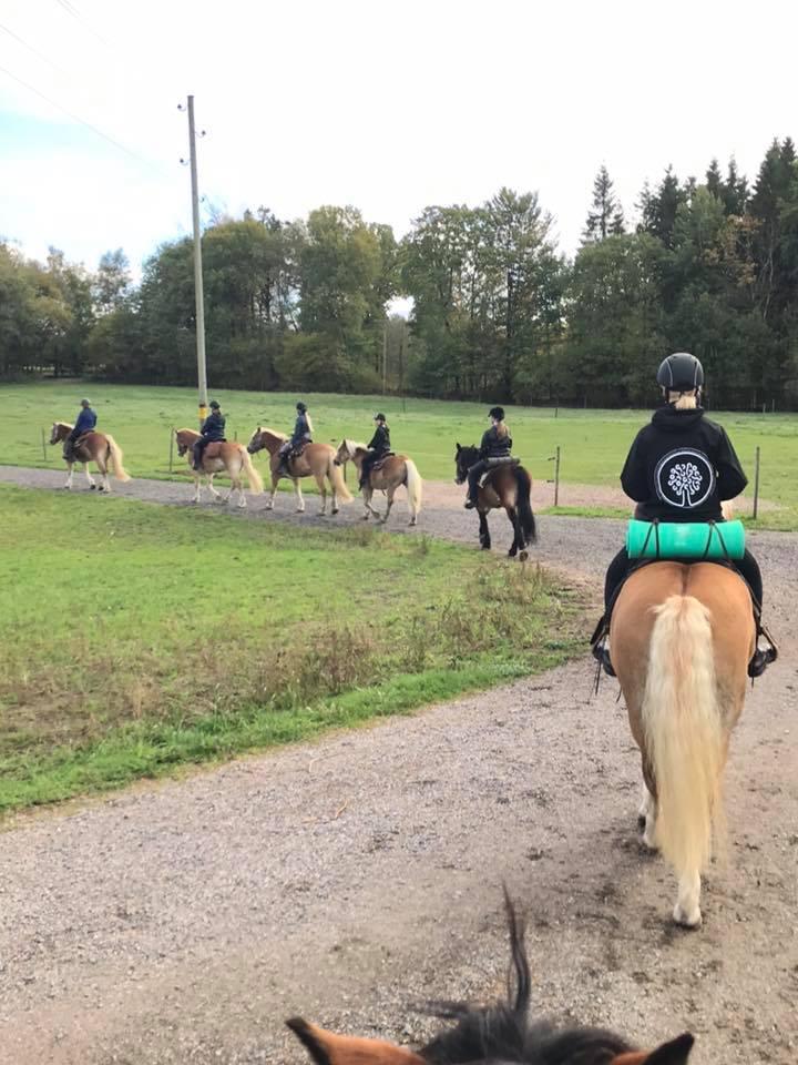 Ranum rider på hest