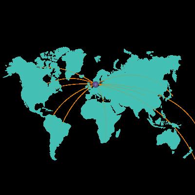 Rejser til hele verden