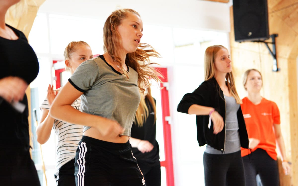 Profilfaget dans i dansesalen