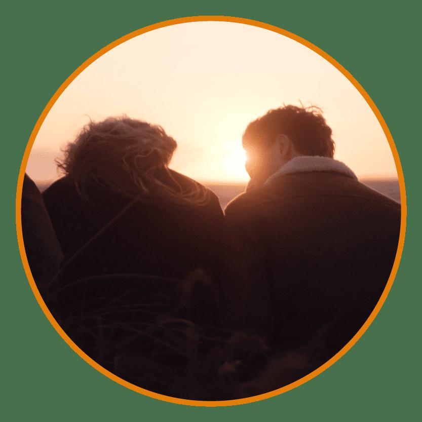 Solnedgang i Rønbjerg
