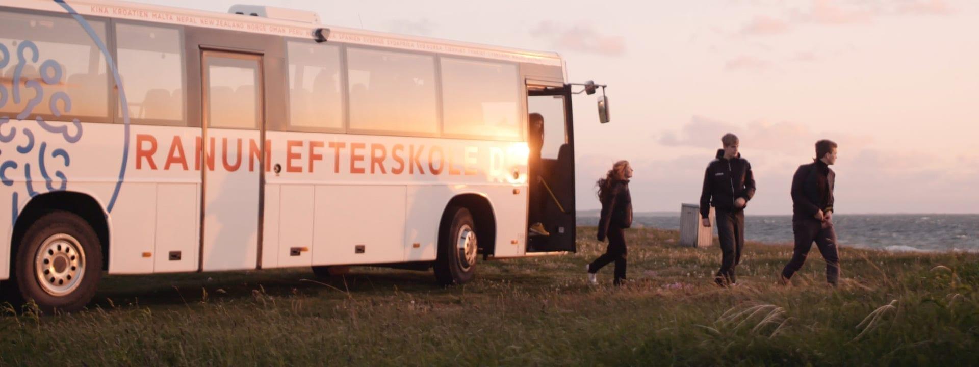 Tur til Rønbjerg ved solnedgang