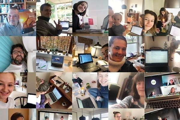 Lærere underviser hjemmefra digitalt