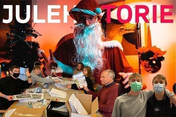 julehistorie og julekort