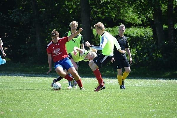 Fodbold profilfag Ranum Efterskole College